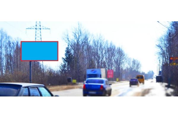 Рекламный щит улица Аустрина 167 А Мясокомбинат, сторона Б