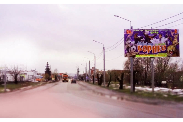 Рекламный щит улица Чаадаева 64а, сторона А