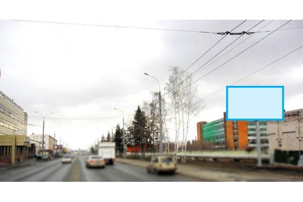 Рекламный щит улица Баумана 30, сторона А