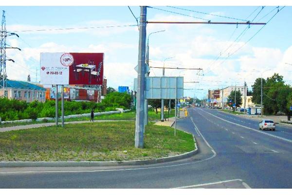 Рекламный щит улица Баумана 65, сторона Б