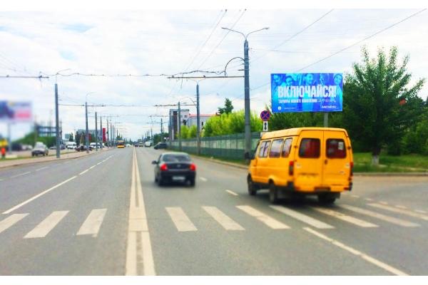Рекламный щит улица Терновского Ритейл парк, сторона А