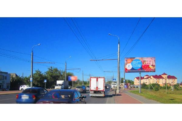 Рекламный щит улица Терновского Россельхозбанк, сторона А