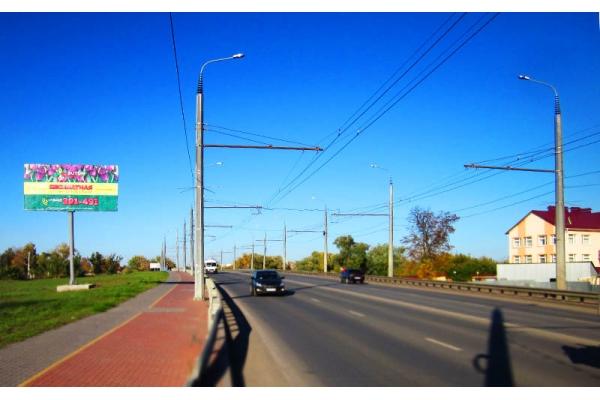 Рекламный щит улица Терновского 101 103, сторона Б