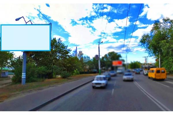 Рекламный щит улица Терновского 123 Ростовская, сторона Б