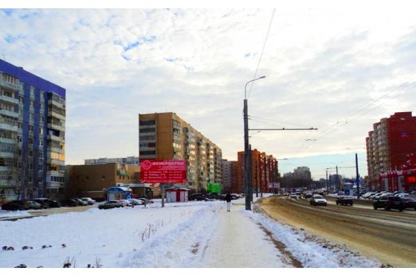 Рекламный щит улица Терновского 160 ТЦ СПАР, сторона Б