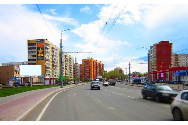 Рекламный щит улица Терновского 160, сторона А