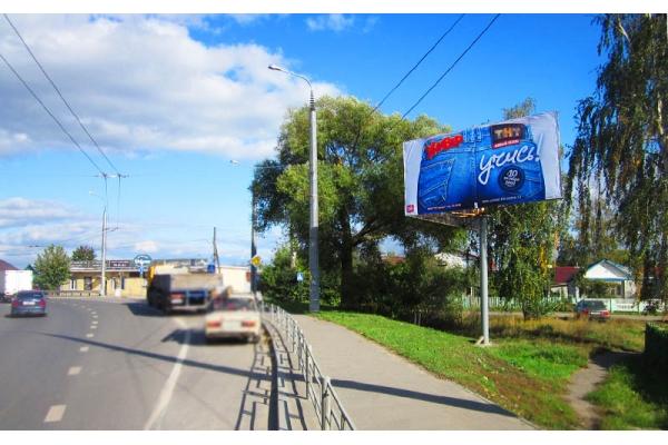 Рекламный щит улица Терновского 69, сторона А