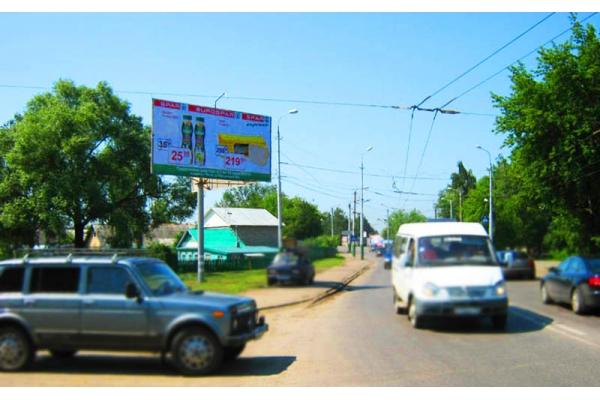 Рекламный щит улица Терновского 69, сторона Б