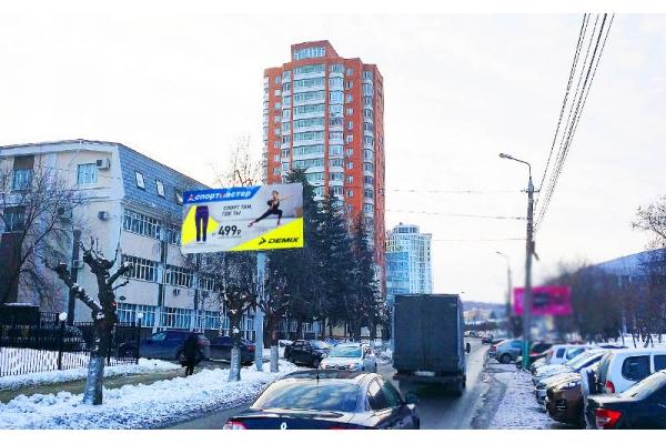 Рекламный щит улица Горького 40, сторона Б