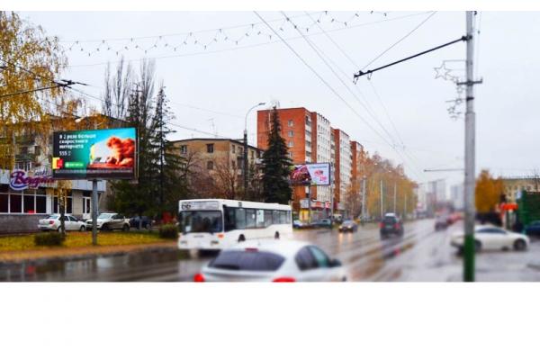 Рекламный щит улица Суворова 129 Твиспо, сторона Б