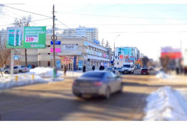Рекламный щит Бакунина улица Гладкова, сторона Б