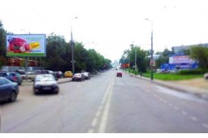 Рекламный щит Бекешская улица, сторона Б призма