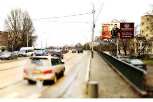 Рекламный щит Дзержинского улица ТЦ Суворовский, сторона А