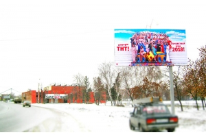 Рекламный щит Инициативная улица 12, сторона А