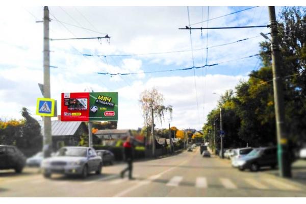 Рекламный щит Пушкина улица 178, сторона Б