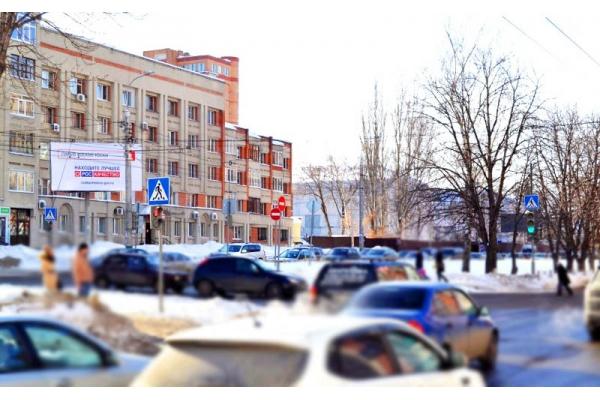 Рекламный щит Ставского улица Пушкина, сторона А3