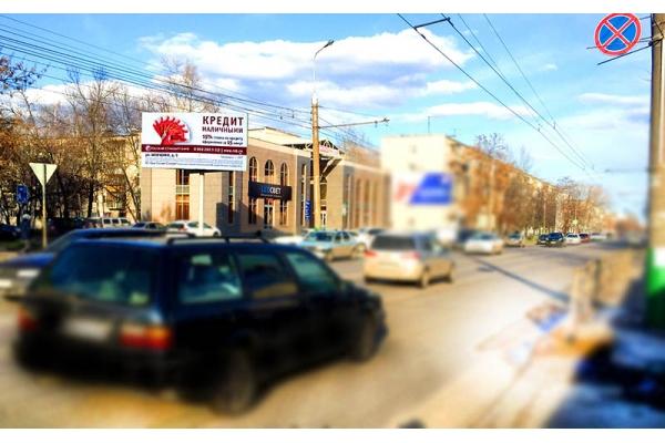 Рекламный щит Суворова улица суд, сторона Б