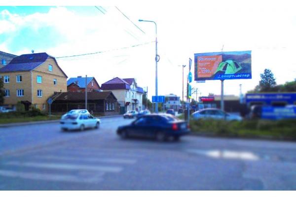 Рекламный щит Сурская улица 26, сторона А