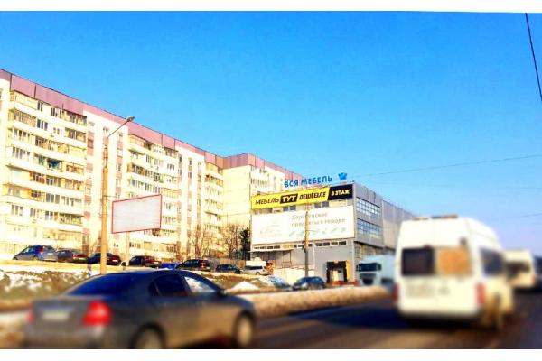 Рекламный щит проспект Строителей 37 Космос-Сити, сторона Б