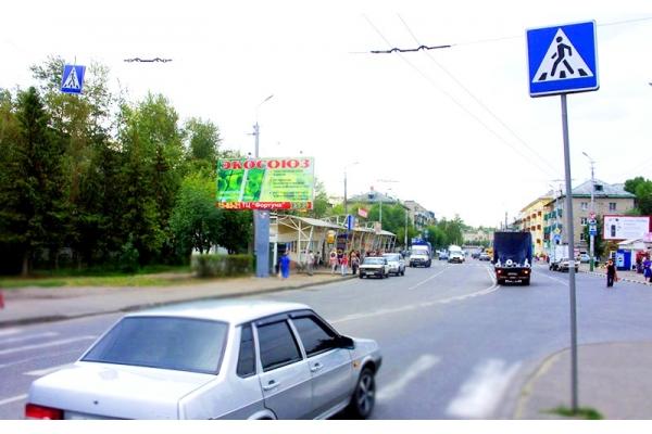 Рекламный щит Калинина улица сторона Б