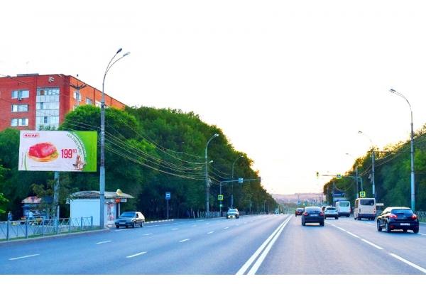 Рекламный щит Победы проспект 144 сторона Б