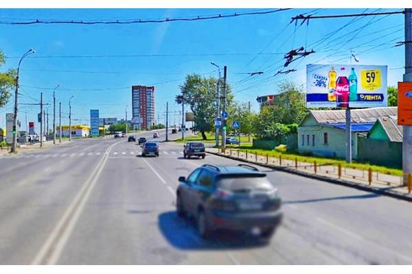 Рекламный щит Победы проспект 50 сторона А