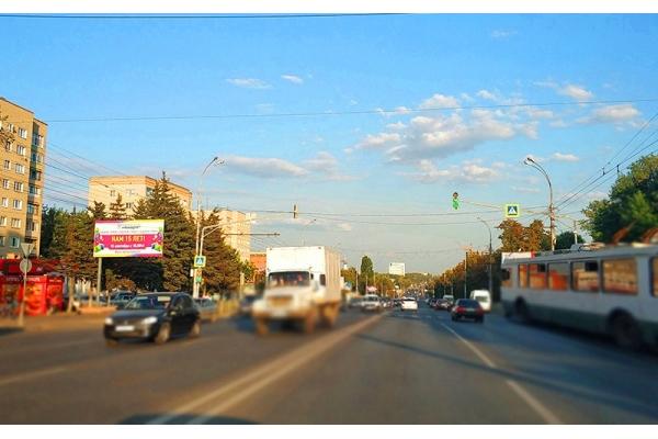 Рекламный щит Победы проспект 95 сторона Б