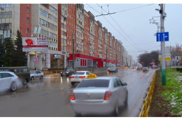 Рекламный щит улица Пушкина Кулакова, сторона Б