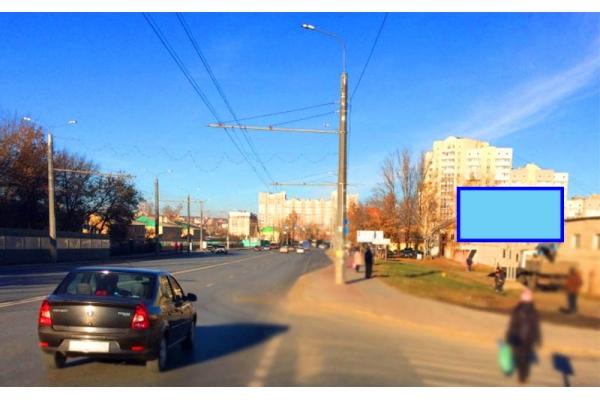 Рекламный щит улица Терновского 222, сторона А