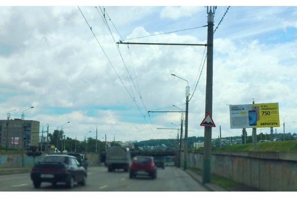 Рекламный щит улица 8 Марта 12, сторона А
