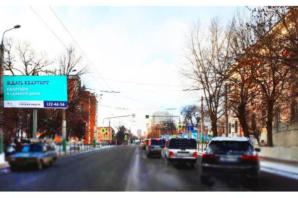 Рекламный щит улица Свердлова 19, сторона Б