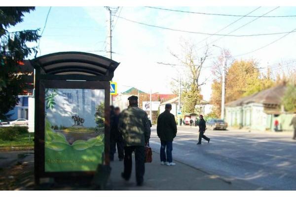 Сити формат Суворова улица остановка улица Володарского, сторона Б